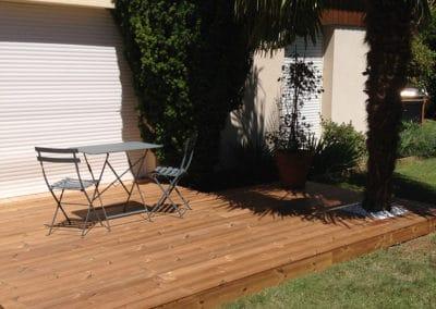 Création terrasse en bois